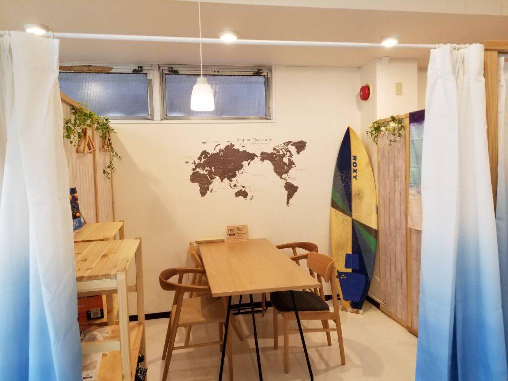 スプラッシュカフェ教室内